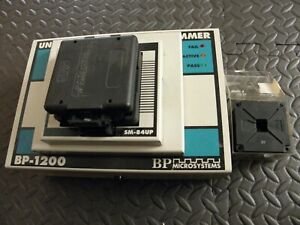 Bp 1200 Ic Programmer With Sm 84up Socket And A Set Of Ic Templates