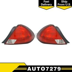 Tyc Left Right 2pcs Tail Light Assembly For Ford Taurus 2000 2003