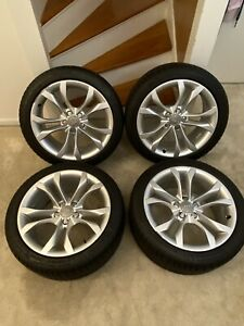 18 Inch Audi S5 S4 2011 2015 Oem Factory Original Alloy Wheel Rim Tires