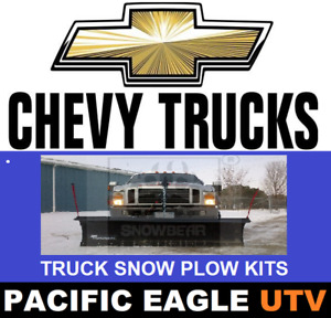 88 Pro Shovel Snow Plow Kit With An Actuator Lift System For Trucks Suvs