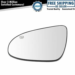 Exterior Side View Mirror Glass Heated Driver Side Lh For Toyota Corolla New
