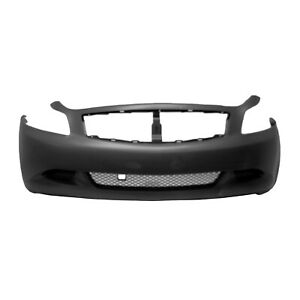 In1000236oe New Oem Front Bumper Cover Fits 2007 2008 Infiniti G35 Sedan