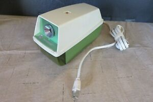 Panasonic Electric Pencil Sharpener Green Model No Kp 8a Tested Made In Japan