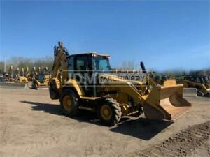 2016 Caterpillar 430 Cab Heat Air Backhoe 4 wheel Drive Loader Cat 430