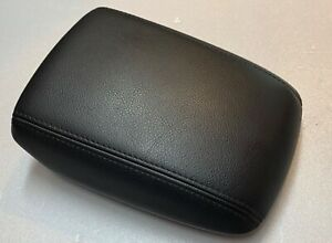 2015 2018 Ford Focus Se Center Armrest Console Cover Lid Black Charcoal Leather