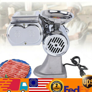 Meat Slicer Commercial Stainless Steel Meat Cutter Electric Shredding Machine