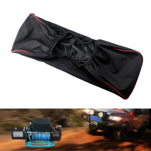 Winch Dust Cover Waterproof 420d Fits Driver Recovery 5000lb To 13000lb Black