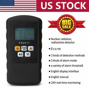 Fs2011 Real time Geiger Counter Nuclear Radiation Detector Test Dosimeter