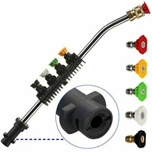 Pressure Washer Wand Extension With Adapter Replacement Lance Only Compatible