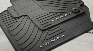 Toyota Venza 2015 2016 Rubber All Weather Floor Mat Set Oem New