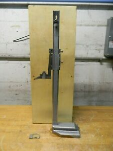 Professional Vernier Height Gage 0 To 18 In Range 0 0010 In Graduation 622 8518