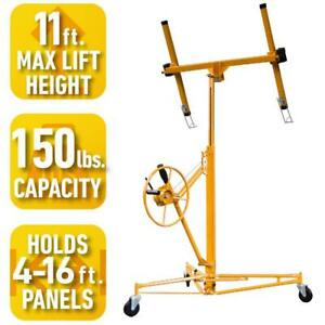 Pro Series Drywall Panel Hoist Heavy Duty Lifting Ceiling Lift Steel Frame Tool