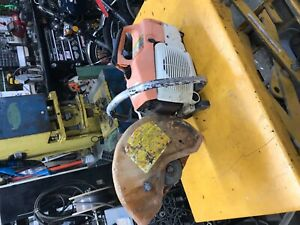 Stihl Ts400 Concrete Saw For Parts Not Working