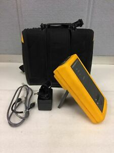 Fluke Smart Remote Dsp sr Working With Battery ac Adapter case working Free Ship