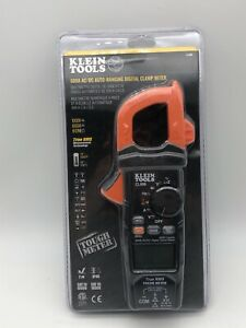 Klein Tools New Cl800 Digital Clamp Meter Ac dc Auto ranging 600a Trms