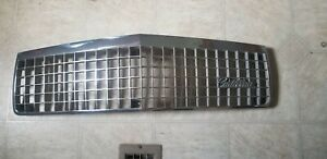 1989 91 Cadillac Deville Fleetwood Chrome Grille Gm 25531908 Used
