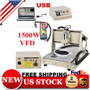 Er11 a Cnc Router Engraver Machine Engraving Drilling 3 Axis 6040 Usb rc Hot