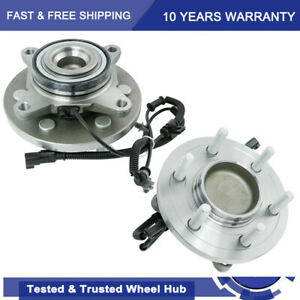 2 Front Wheel Bearing Hub For 2015 2017 Ford Expedition Lincoln Navigator 2wd