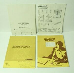 Heathkit Manual Digital Deluxe Depth Sounder Model MI-1031 w/ 2 Large Schematics
