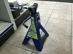 Pair Of New Holland Double Locking Jack Stands 12 Ton
