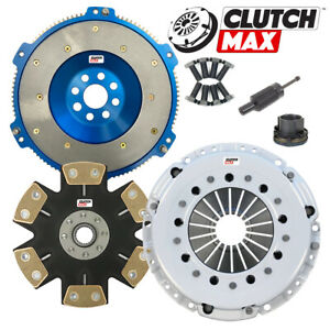 Stage 5 Max Grip Clutch Kit And Aluminum Flywheel For 2004 2005 Bmw 330 6 speed