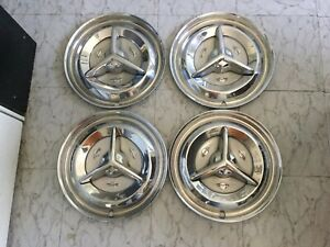 1956 Oldsmobile Spinner Hubcaps Oe56wc