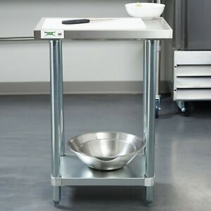 Commercial Work Table Undershelf Kitchen Stainless Steel Space Saver 18 X 24