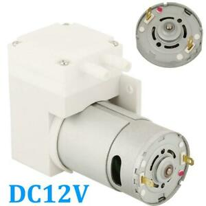 Dc12v Mini Vacuum Pump Negative Pressure Suction Pumping 7l min 76kpa Us Stock
