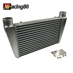 New Universal 2 5 I o V Mount Front Intercooler Overszie 23 x13 x3 2 1 2