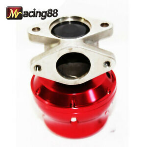 Universal 35 38mm Adj wastegate 2 bolt Mazda Toyota Scion Dodge Acura Bmw Red