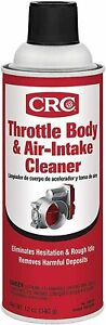 Crc 05078 Throttle Body And Air Intake Cleaner 12 Oz Pack Of 1