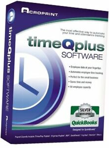 Acroprint Timeqplus Software Single Location Time And Attendance Software Time