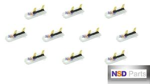 10 Pcs 3392519 Dryer Blower Thermal Fuse Fit Whirlpool Kenmore Maytag Ps11741460