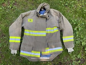 Morning Pride Fire Fighter Turnout Jacket 42 29 35 34 Bunker Gear 2760