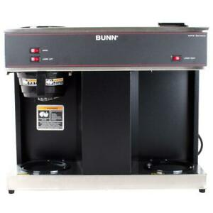Bunn Commercial Coffee Maker Coffeemaker Brewer W 3 Warmers 12 Cup Stainless New