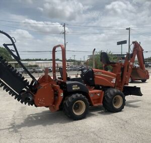 Ditch Witch Trencher 2005 Rt55 Trencher backhoe And Grader Work Ready
