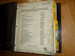 Caterpillar T30 T60 T30b T60b Lift Trucks Factory Service Manual Oem