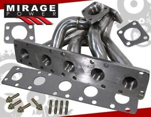 Audi 2 2l 20v S2 S4 Rs2 K26 Stainless Steel Exhaust Manifold W Wastegate Flange