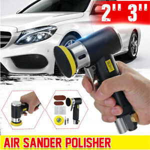 2 3 Mini Air Sander Dual Action Air Polisher Grinder Pneumatic Sanding Tool
