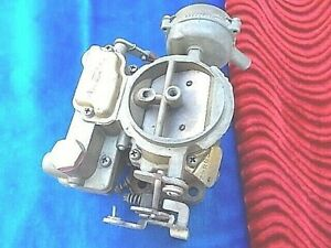 Nos Carter Wed 2 Barrel Carburetor 2286s 1955 1961 Chevrolet V 8
