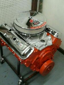 454 Chevelle Ls6 Engine 450hp 500 Tq 7416 Crank 7 16 Dimple Rods 569 Intake