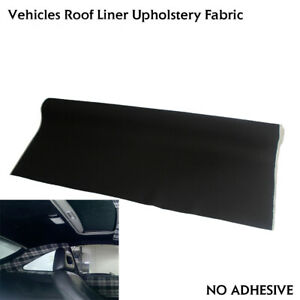 Car Roof Lining Headliner Foam Fabric 90 X60 Remedy Repair Recondition Ceiling