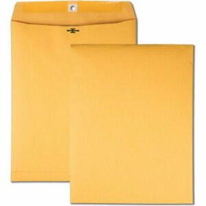 100 12 X 15 1 2 Brown Kraft Clasp Envelopes Office Mailing Storing Shipping