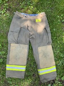 Morning Pride Fire Fighter Turnout Pants 36x29 Bunker Gear 2794