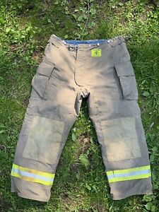 Morning Pride Fire Fighter Turnout Pants 46x33 Bunker Gear 2795