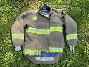 Morning Pride Fire Fighter Turnout Jacket 42 29 35 34 Bunker Gear 2770