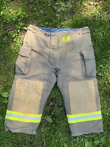 Morning Pride Fire Fighter Turnout Pants 48x27 Bunker Gear 2781