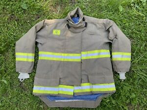 Morning Pride Fire Fighter Turnout Jacket 52 31 37 36 Bunker Gear 2769