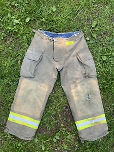 Morning Pride Fire Fighter Turnout Pants 36x30 Bunker Gear 2782