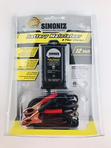 Simoniz Deluxe 12 Volt 12 Ft 18 Gauge Cable Battery Maintainer Float Charger